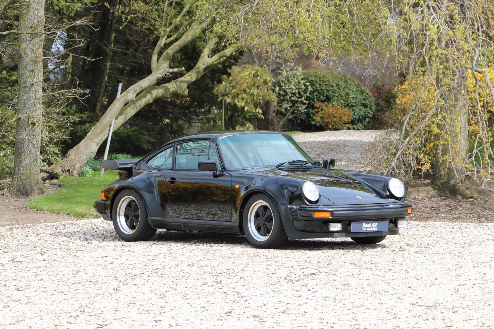 Real Art on Wheels   1985 Porsche 911 Turbo